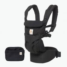 Ergobaby Omni 360 Baby Carrier-Pure Black (2020)