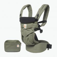 Ergobaby Omni 360 Baby Carrier-Khaki Green