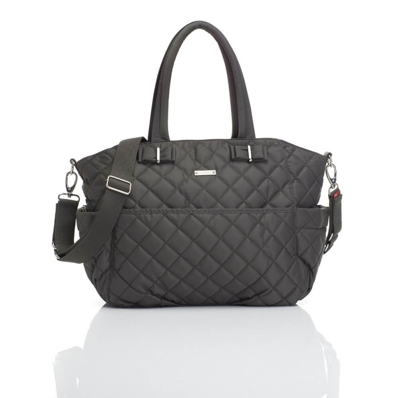 Storksak Bobby Nappy Changing Bag-Charcoal (New)