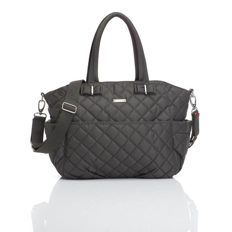 Storksak Bobby Nappy Changing Bag-Charcoal (New)