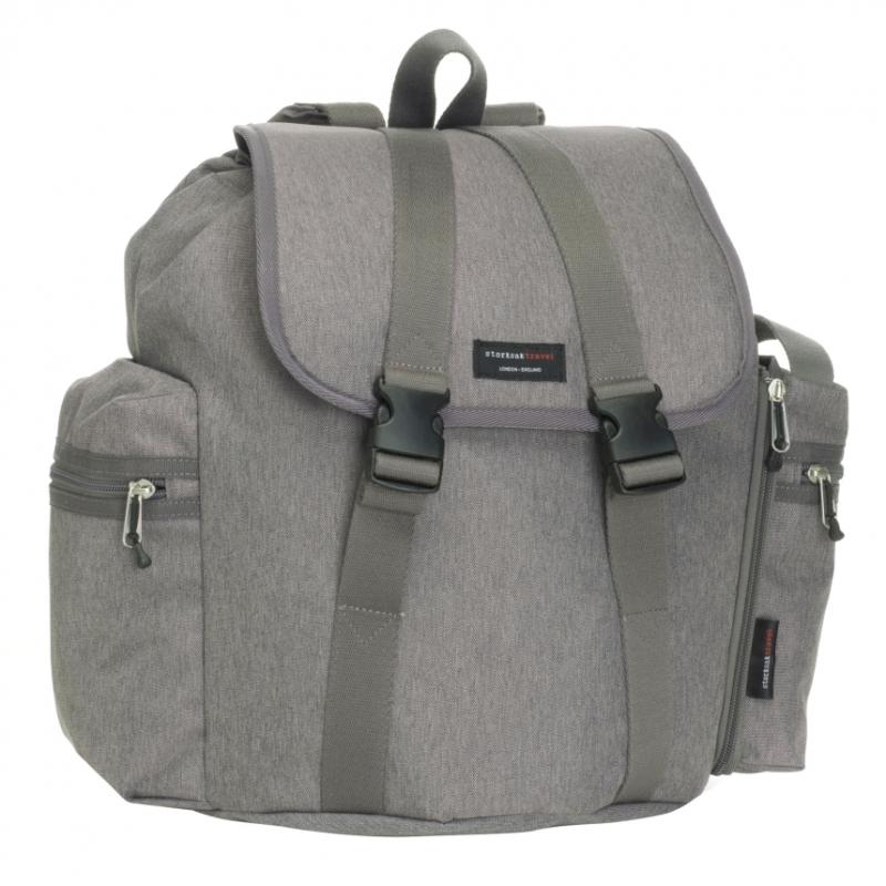 Storksak Backpack Travel Changing Bag-Grey (New)