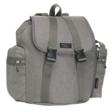 Storksak Backpack Travel Changing Bag-Grey (New)