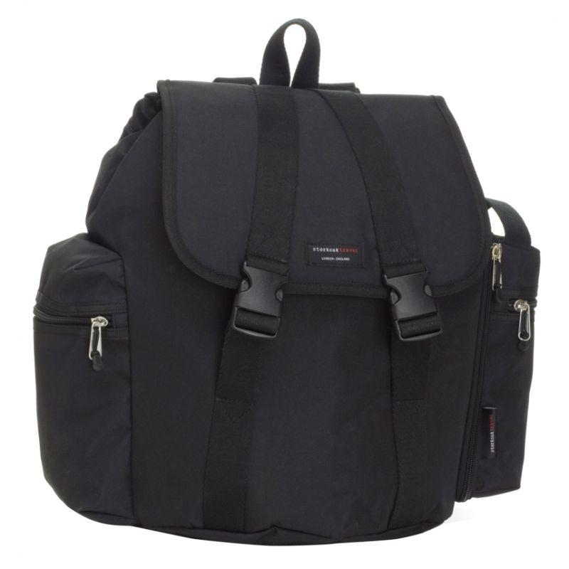 Storksak Backpack Travel Changing Bag-Black (New)