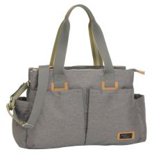 Storksak Shoulder Travel Changing Bag-Grey (New)