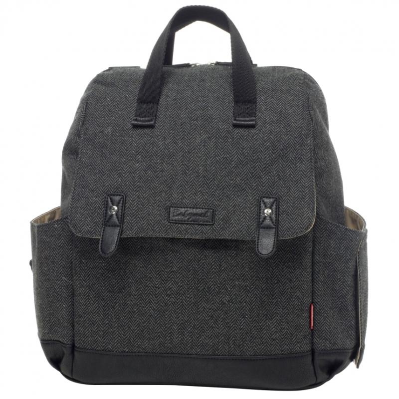 Babymel Robyn Navy Changing Bag-Tweed (New)
