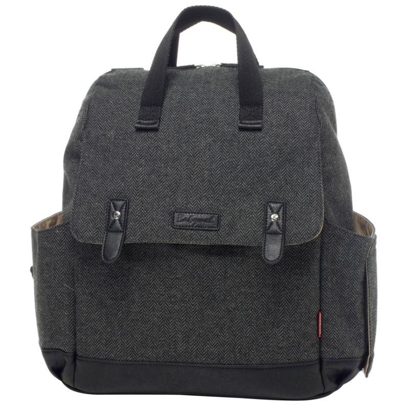 Babymel Robyn Changing Bag-Tweed (New)