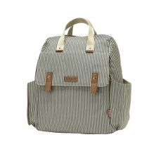 Babymel Robyn Navy Changing Bag-Navy Stripe (New)
