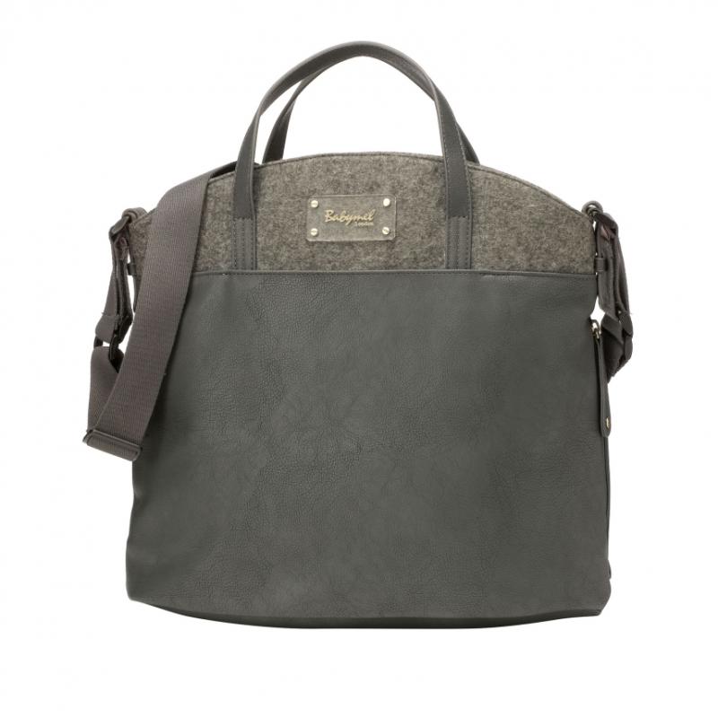 Babymel Grace Changing Bag-Grey (New)