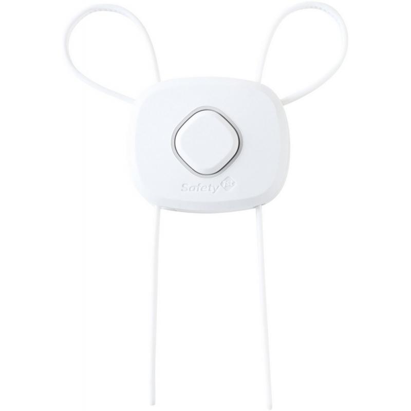Safety 1st Secret Button Flex Lock-white