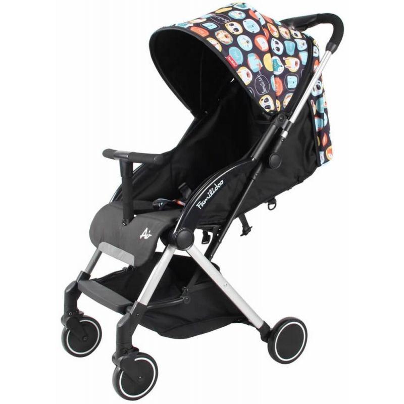 Familidoo Air Stroller-Panda Black