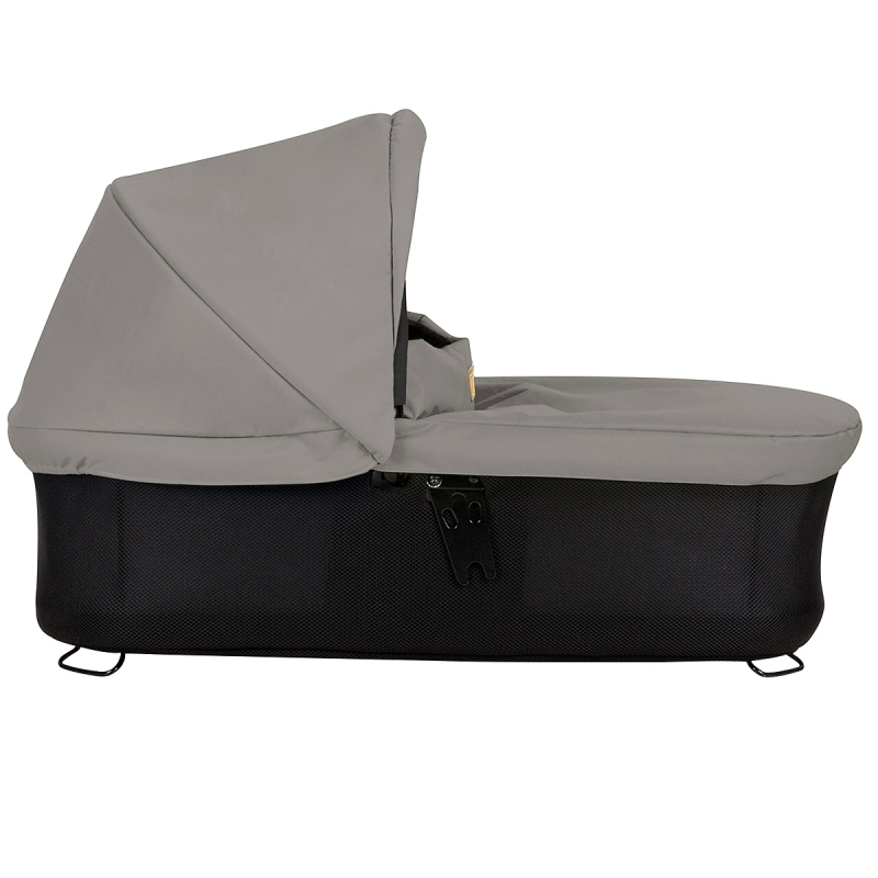 Mountain Buggy Swift/Mini Carrycot Plus-Silver (New)