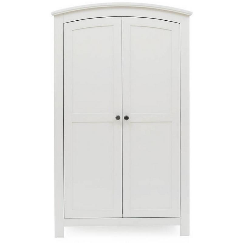 Silver Cross Ashby Style Wardrobe-White