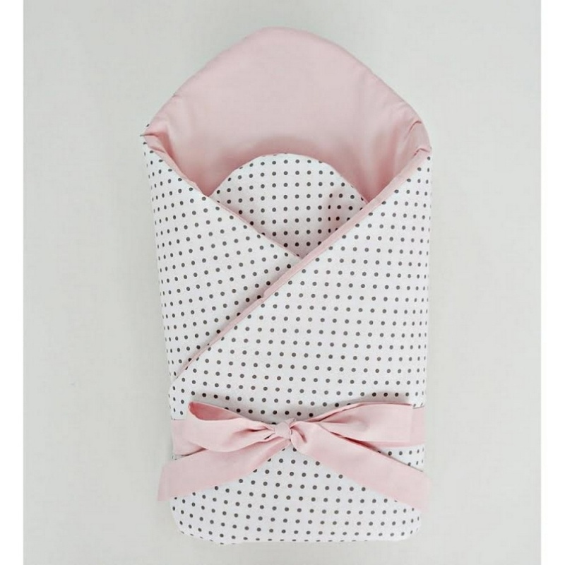 Little Babes Soft Swaddle Wraps-Powder Pink