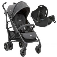 Joie Brisk Lx 2in1 Gemm Travel System-Pavement (New)