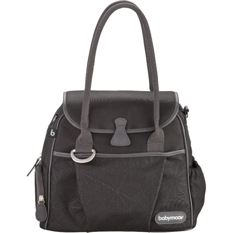 Babymoov Style Changing Bag-Dotwork Black