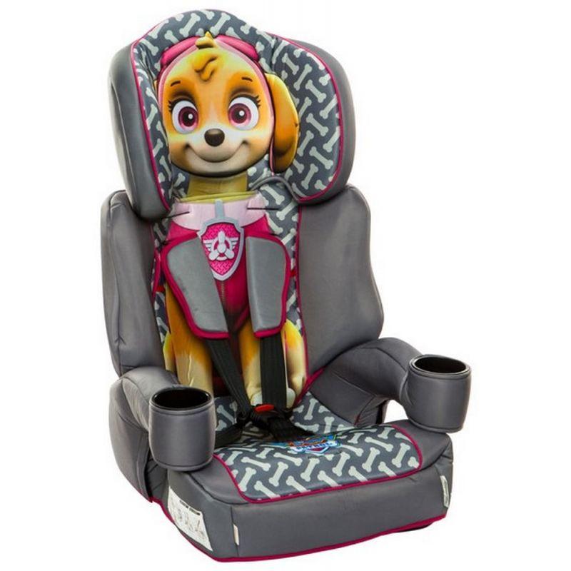 Kids Embrace High Backed Booster 1/2/3 Car Seat-Paw Patrol Skye