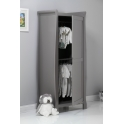 Obaby Stamford Sleigh Single Wardrobe-White (New)