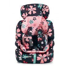 Cosatto Zoomi (5 Point Plus) 1/2/3 Car Seat-Paper Petals (New)