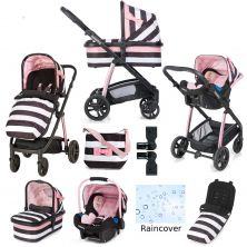 Cosatto Wow Travel System and Accessories Bundle-Go Lightly 3 (New 2018)