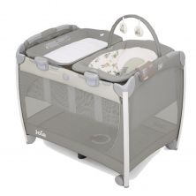 Joie Excursion Change & Bounce Travel Cot-In The Rain
