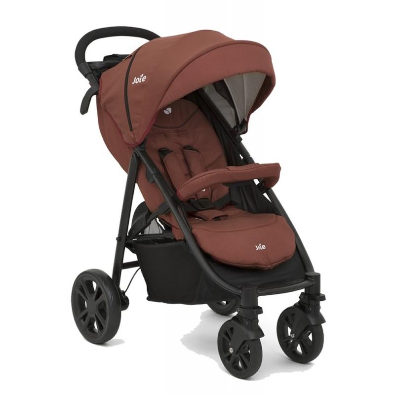 Joie Litetrax 4-Wheel Stroller-Brick Red (New 2018)