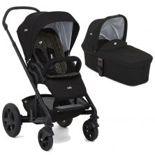 Joie Chrome DLX 2in1 Pram System-Dots (New 2018)