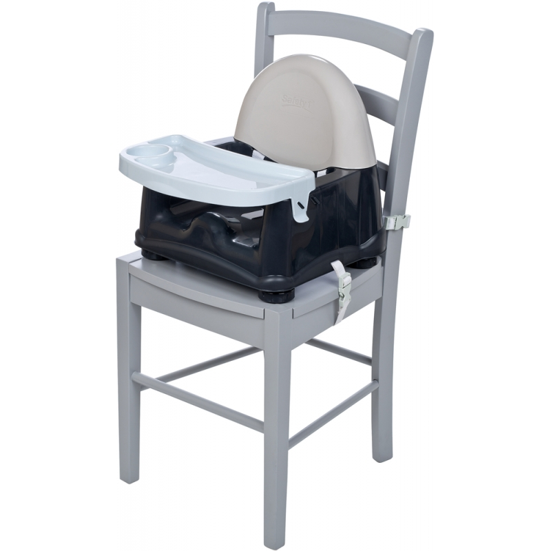 Safety 1st Easy Care Swing Tray Booster Seat Grey Patches (NEW 2019)