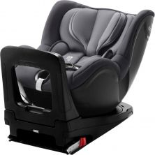 Britax Dualfix Family i-Size Group 0+/1 Car Seat & FOC Rear Facing Kit-Storm Grey