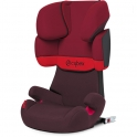 Cybex Solution X-Fix Group 2/3 Car Seat-Rumba Red (New 2020)