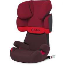 Cybex Solution X-Fix Group 2/3 Car Seat-Rumba Red (2021)
