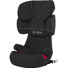 Cybex Solution X-Fix Group 2/3 Car Seat-Pure Black (New 2020)