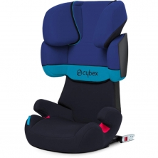 Cybex Solution X-Fix Group 2/3 Car Seat-Blue Moon