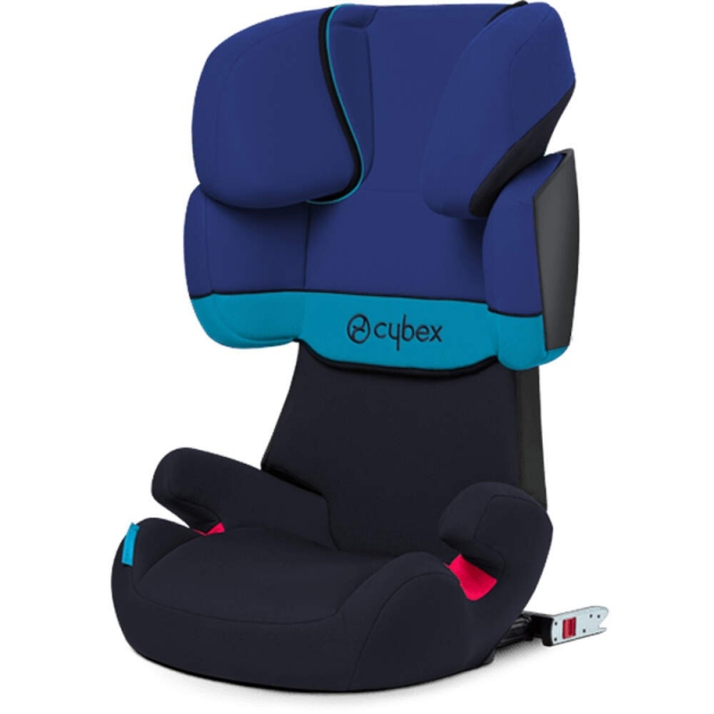 Cybex Solution X-Fix Group 2/3 Car Seat-Blue Moon (2021)