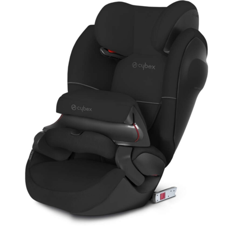 cybex pallas m fix sl group 1 2 3 car seat pure black. Black Bedroom Furniture Sets. Home Design Ideas