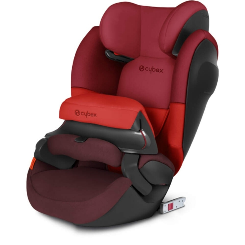 cybex pallas m fix sl group 1 2 3 car seat rumba red. Black Bedroom Furniture Sets. Home Design Ideas