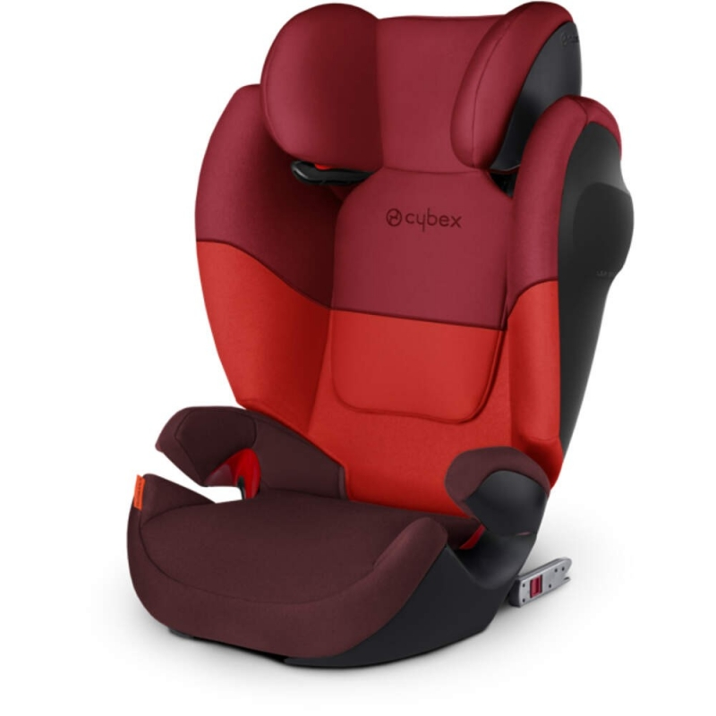 cybex solution m fix sl group 2 3 car seat rumba red new 2018. Black Bedroom Furniture Sets. Home Design Ideas