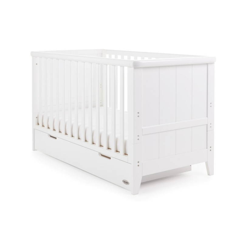 Obaby Belton Cot Bed-White