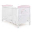 OBaby Grace Inspire Cot Bed-Unicorn