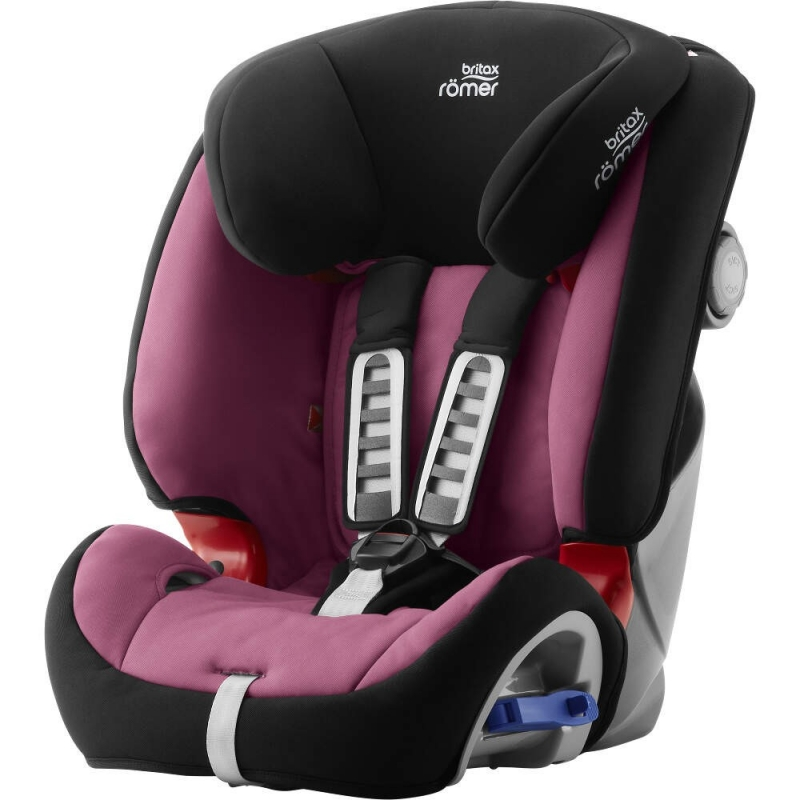 Britax Multi-Tech III Car Seat-Wine Rose (New)