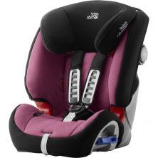 Britax Multi-Tech III Car Seat-Wine Rose (New)