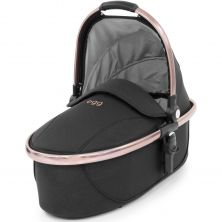 egg® Special Edition Rose Gold Carrycot-Diamond Black