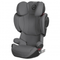 Cybex Solution Z-Fix Group 2/3 Car Seat-Manhattan Grey (New 2019)