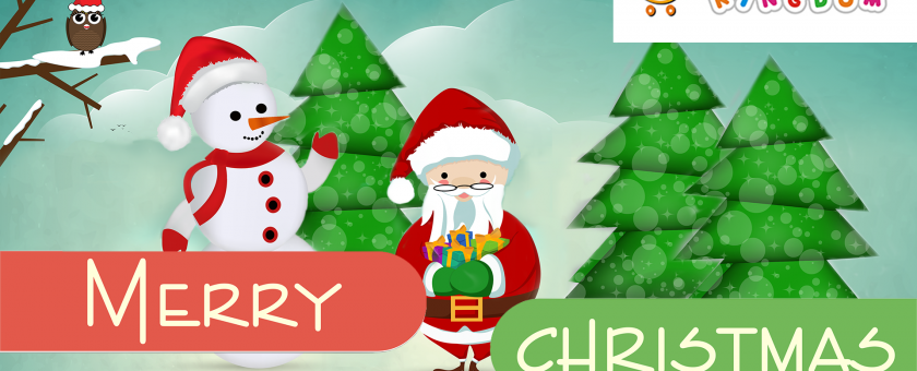 Kiddies Kingdom Christmas Card