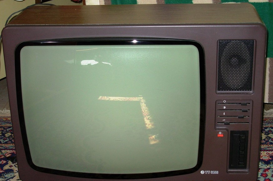 old tv set from the 70's