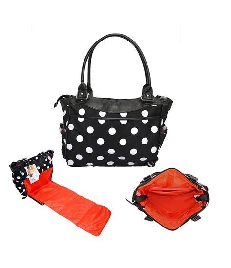 KK Polka Changing Bag