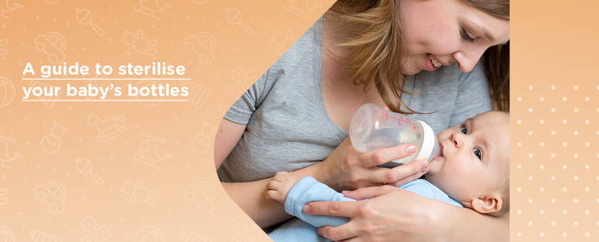 How to Sterilise Baby Feeding Equipment