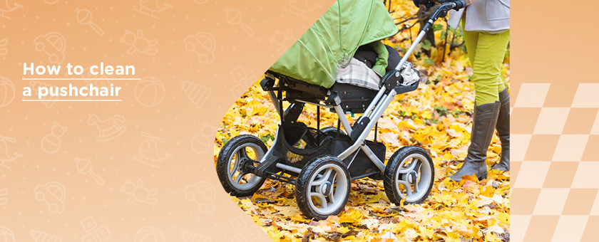 How to Clean a Pushchair