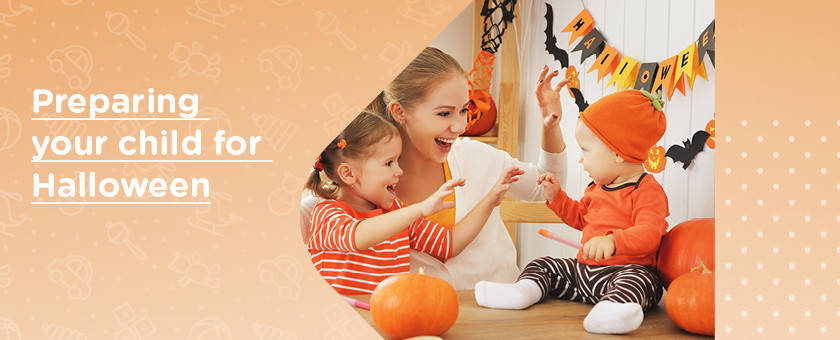 Preparig your child for Halloween