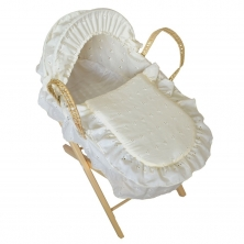 Kiddies Kingdom Deluxe DOLLS Moses Basket
