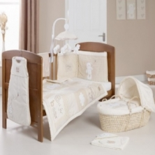 Obaby B Is For Bear Bedding (Cream)
